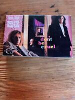 Cheap Trick Don't Be Cruel + I Know what I want(Live) Cassette Tape Hard Rock