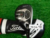 Titleist TS2 21* Hybrid HZRDUS Smoke 6.0 Stiff Graphite with Headcover 40.5""