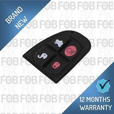 Jaguar X Type XF XJ XK E S 4 Button Flip Folding Remote Key Fob Case Rubber Pad