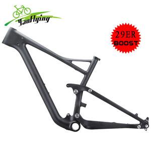 T1000 Carbon Full Suspension Boost Frame mtb 29er 148*12 Mountain Bike Frameset