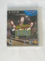 High Velocity Bowling  (Playstation 3, PS3)  ***NEW FACTORY SEALED***