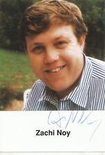 Zachi Noy   Film & TV   Autogrammkarte original signiert 330470