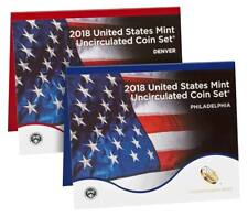 2018 US Mint Set Uncirculated Sealed Box 18RJ