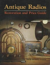 Restoring Identifying Antique Radios - Makers Models Dates / Book + Values