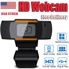 Wecam Auto Focusing Usb Rotable Web Camera with Microphone For Pc Laptop Video A