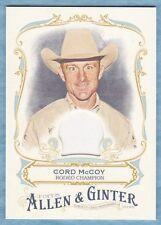 2016 Allen & Ginter Baseball ~ Cord McCoy ~ Rodeo Champion ~ Relic #FSRACMC