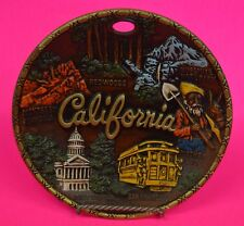 """Uber Cool California Plate By Smith Western~8"""" Diameter~Lots Of Detail~So Fun!"""