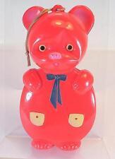 "Patrón Celluloid bebé juguetes oso personaje altura 12,5 (5"") 50er JH. japón #52"