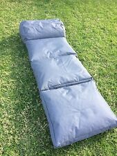 Lounger1 Bean Bag Chair Sofa Indoor Outdoor Water Resistant Day Bed - CHARCOAL
