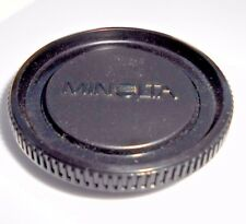 Minolta Camera Body Cap genuine with logo made in Japan MD X series BC-1