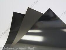 Black Gloss/Matt Reverse 180gsm Cardmaking Arts Craft 4 Sizes to Choose