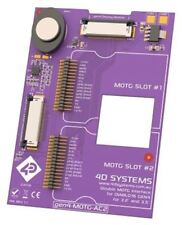4D Systems MOTG AC2 Interface Board with 2 MOTG Slots for gen4 LCD Displays