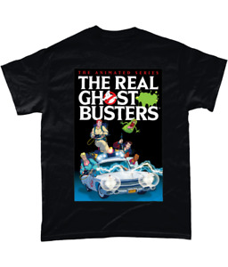 The Real Ghostbusters 80s Retro Kids Cartoon Unisex Tshirt T-Shirt Tee ALL SIZES