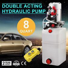 12 Volts 12V 8L Pompe Hydraulique Groupe Unité De Puissance Électrique Levage
