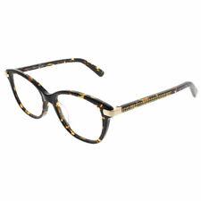 023897841b1 Jimmy Choo JC 196 086 Dark Havana Plastic Square Eyeglasses 51mm
