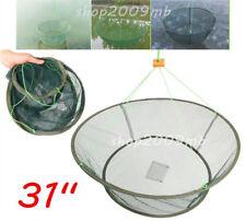 31'' Large Prawn Bait Drop Landing Fishing Net Kit Tool Crab Shrimp Pier Harbour