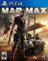 Mad Max PS4 Sony PlayStation 4 Brand New Factory Sealed