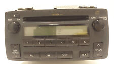 Original 2004-2008 Toyota Corolla Radio CD Spieler # 86120-02430