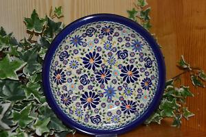 Bunzlauer Keramik Suppenteller Dek DU 126
