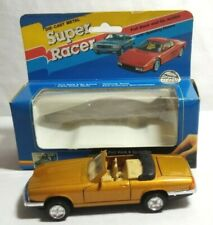 SUPER RACER 1:38 DIECAST SPORTS CONVERTIBLE PULL BACK & GO ACTION OPENING DOORS