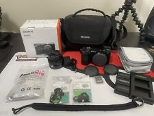 Sony Alpha a6100 24.2MP Mirrorless Camera W/16-50mm Lens Kit + EXTRAS!!!!!!!!!!!