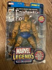 Toy Biz 2002 Marvel Legends THE THING Action Figure Sealed New Fantastic Four 4
