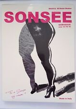 Plus Size Sonsee Stockings/Pantyhose 60 Denier Size 14 to 16 RRP$29.95