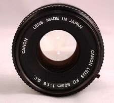 Objektv Lens Canon FD 50 mm 1,8 Top!