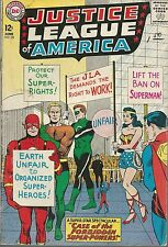 JUSTICE LEAGUE OF AMERICA #28 VG CASE OF FORBIDDEN SUPER-POWERS!