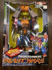 Transformers Beast Wars Optimal Optimus Transmetals 100% Complete In Box