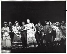 """Rodgers & Hammerstein """"OKLAHOMA!"""" Helen Gallagher / Betty Garde 1958 Press Photo"""