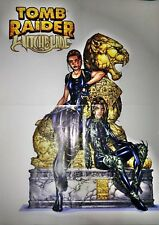 TOMB RAIDER WITCHBLADE poster formato cm.50 x 70