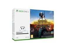 Microsoft Xbox One S blanca 1TB Playerunknown Battleground Game Pass 1 mes