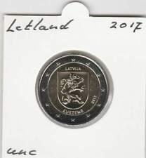 Letland 2 euro 2017 UNC : Kurzeme