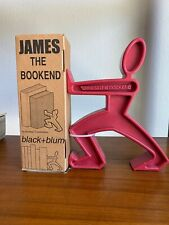 James ~ The Bookend - RED  Black + Blum  Modern New In Box