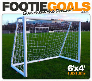FOOTIE GOAL-  6x4 with base *free delivery* *best to offer*