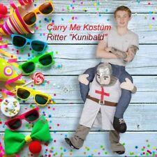 Carryme Ritter Kostüm Huckepack Fasching Karneval Knight Trag mich
