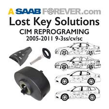 SAAB 9-3 2005 – 2011 LOST KEY SERVICE (CIM PROGRAMING) INCLUDES 2 KEY FOB & KEY