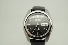 Seiko 5 Actus - Rare Charcoal Dial - Kanji Day Wheel - 7019 Calibre