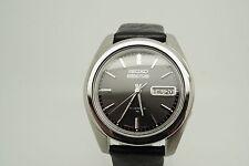 Seiko 5 Actus-Raro carbón Dial-Kanji día Rueda - 7019 calibre