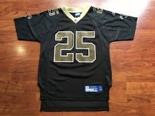 NEW ORLEANS SAINTS REGGIE BUSH JERSEY REEBOK ON FIELD NFL PLAYERS YOUTH MEDIUM