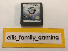 Minute To Win It Nintendo DS / 3DS Game Only - Works Great - Ships Fast