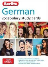 Berlitz Language German Study Cards 3e 9781780044675