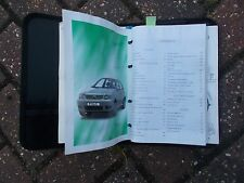 VOLKSWAGEN POLO MK5 6N2 MODEL 1999 - 2001 BINDER WALLET WITH OWNER'S MANUAL PACK