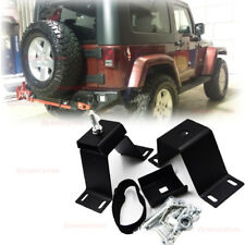 Fit Jeep Wrangler YJ TJ Car Pickup Hi-Lift Jack Underback Bumper Rear Door Mount