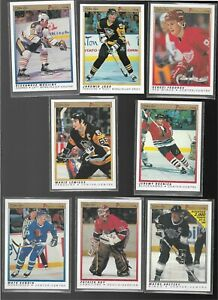 1990-91 O-PEE-CHEE PREMIER HOCKEY COMPLETE SET OF 132 (LOOKS MINT, JAGR ALSO !!)