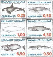 Dänemark-Grönland 287y-292y (kompl.Ausg.) postfrisch 1996 Wale