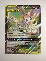 Pokemon card Gardevoir & Sylveon GX FULL ART NM - Sun & Moon Unbroken Bonds