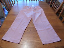 Alfred Dunner 100% Polyester Dusty Rose Women's Pants size 16 Short NWTs