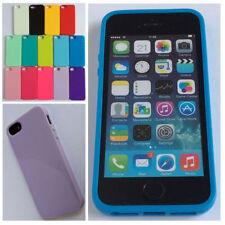 Étuis, housses et coques etuis portefeuilles iPhone 5s en silicone, caoutchouc, gel pour téléphone mobile et assistant personnel (PDA)